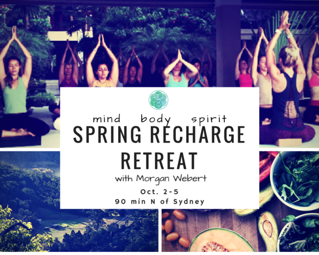 spring recharge retreat